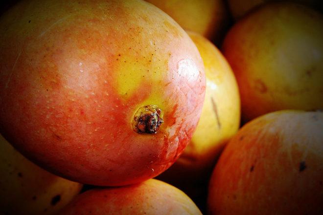 Piure de mango și pepene