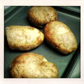 cartofi cu conopidă și sos alb