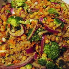 Piure de broccoli cu năut (de la 10 luni)