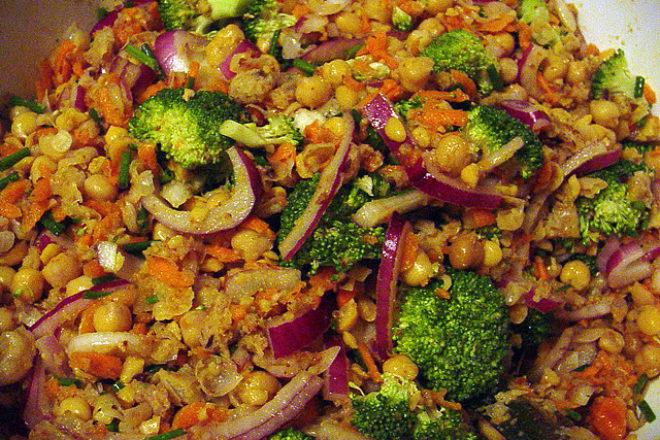 Piure de broccoli cu năut