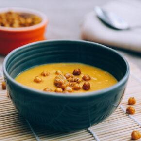 Supă cremă de năut