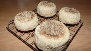 brioșe englezești (english muffins)