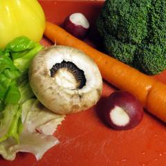 Ciuperci cu legume (de la 1 an)