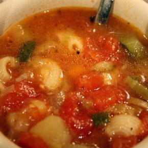 Supă minestrone (de la 1 an)