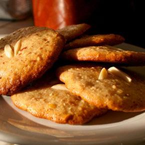 prăjiturele cu migdale și mere