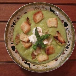 supă cremă de avocado