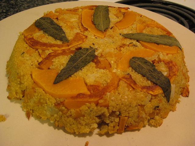 Quinoa cu mere și vanilie