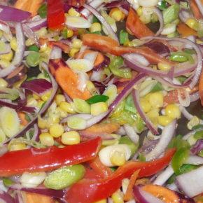 Buritto cu legume (de la 1 an)