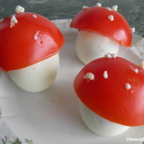 ciupercuțe din ouă
