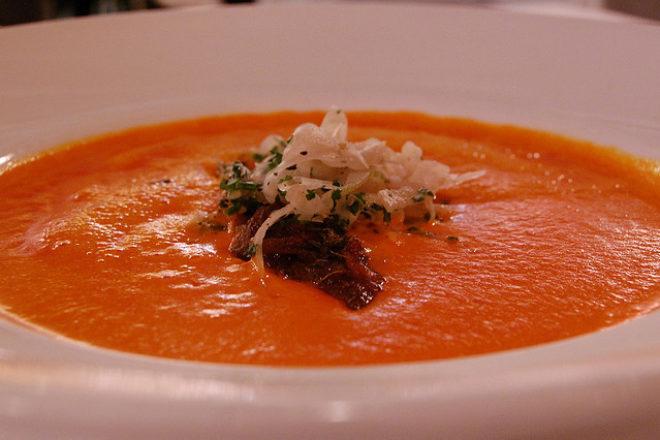 supă Gaspacho cu ardei gras