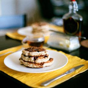 Pancakes cu morcovi (de la 1 an)