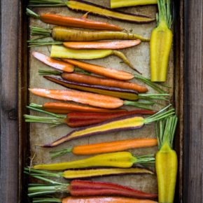 Rădăcinoase la cuptor cu sos (de la 1 an)