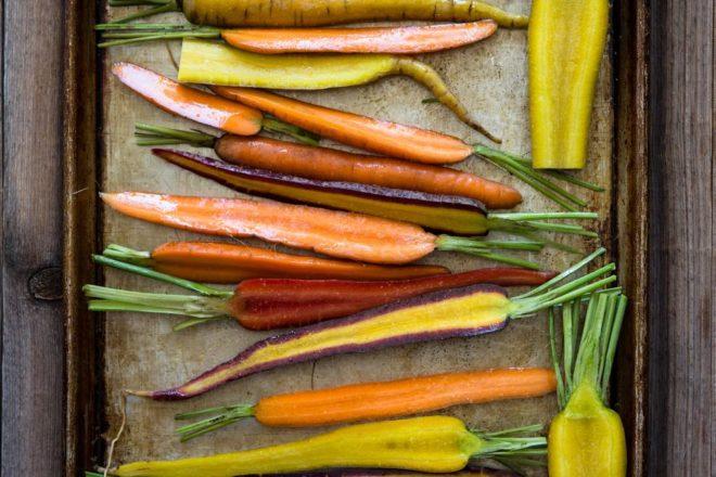 Rădăcinoase la cuptor cu sos
