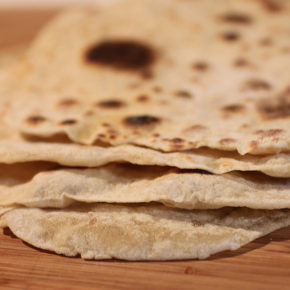 Tortilla cu făină integrală (de la 1 an)