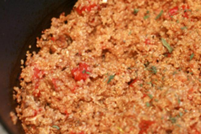 quinoa cu hribi