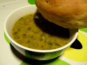 supă cremă de andive şi orez