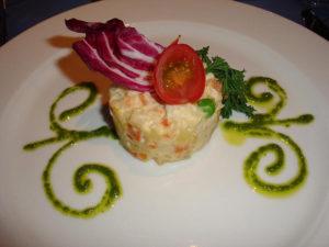 salată boeuf cu pește