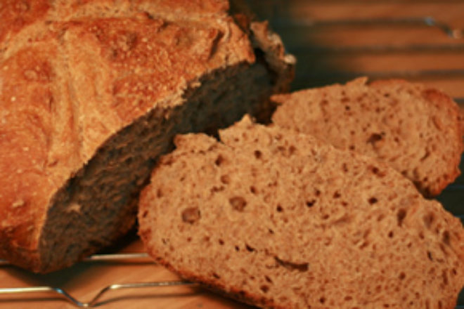 rețetă simplă de pâine cu maia