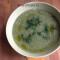 Supă cremă de frunze de ridichi (de la 1 an)