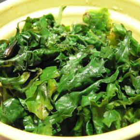 Kale cu praz (de la 8 luni)
