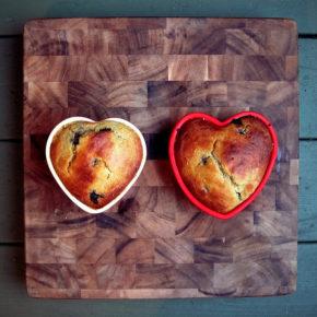 pâine cu mălai și merișor