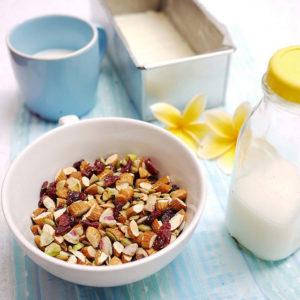 Mix de semințe și nuci coapte