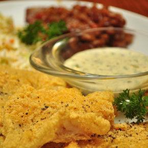 peşte cu sos tartar
