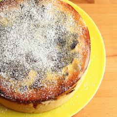 Prăjitură cu vişine (de la 1 an)