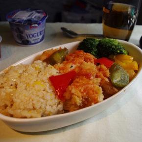 Salată de orez şi curry (de la 1 an)