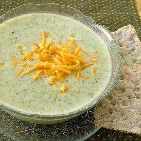 Supă cremă de broccoli cu parmezan (de la 1 an)