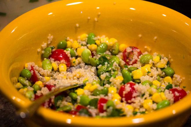 quinoa curcubeu