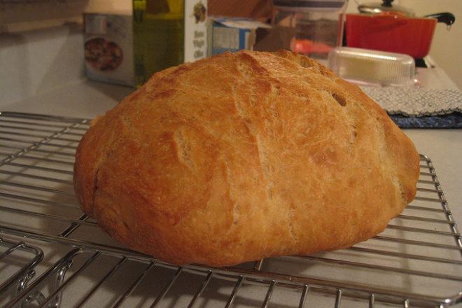 pâine cu cartofi