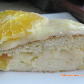 Tort cu portocale (de la 2 ani)