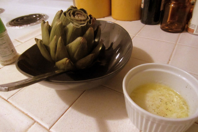 anghinare cu sos