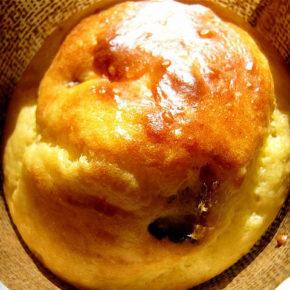 brioșe cu mazăre și brânză
