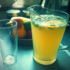 Limonadă cu goji și ghimbir (de la 2 ani)