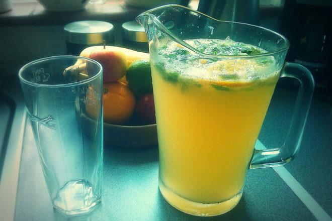 limonadă cu goji și ghimbir