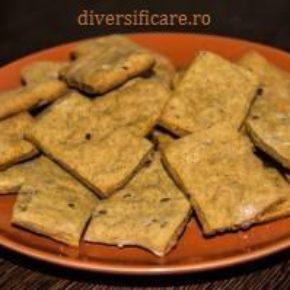 crackers cu semințe