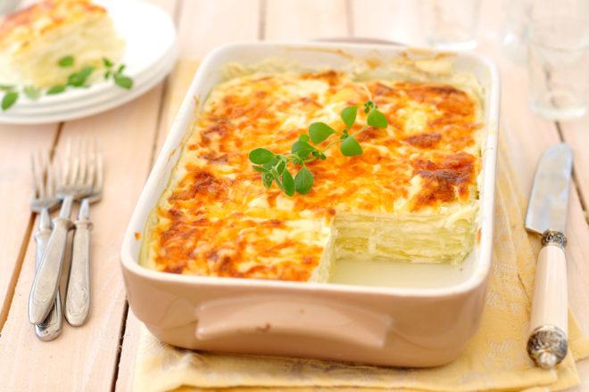 dovlecei cu brânză la cuptor