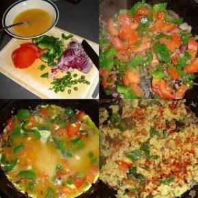 Plăcintă din legume