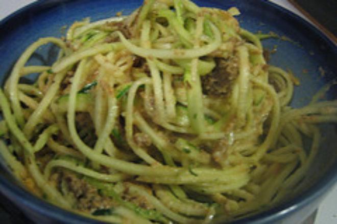 spaghete din dovlecel