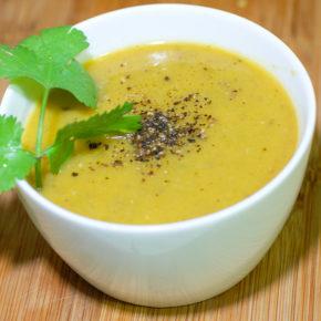 Supă cremă aromată de legume (de la 6 luni)