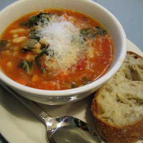 Supă minestrone (de la 10 luni)