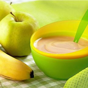 Piure de fructe aromat (de la 6 luni)