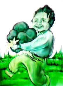 broccoli ilustratie color