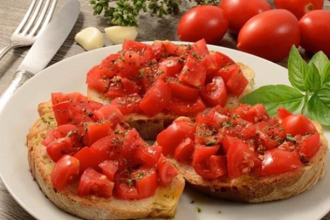 bruschete pomodoro