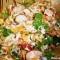 Salată de orez sălbatic și legume (de la 1 an)