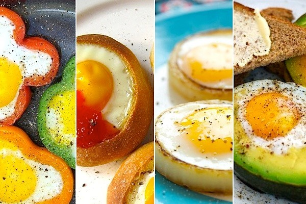 ou ochi în legume