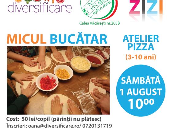 Diversificare.ro te invita la atelierul de pizza!