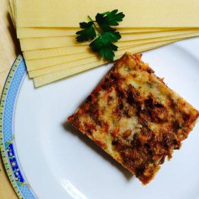 Lasagna cu gălbiori și spanac (de la 3 ani)